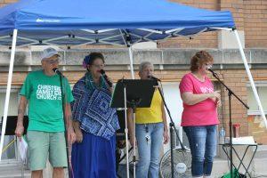 Christ Family Church Outreach 2018 worship singers