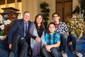 Pastor Lambie's Family